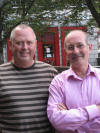Me and Tony Bridge another great mastering engineer Edinburgh 2006